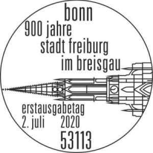 Stempel Bonn Freiburg