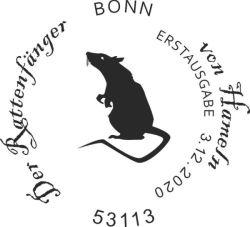Stempel aus Bonn Rattenfänger von Hameln