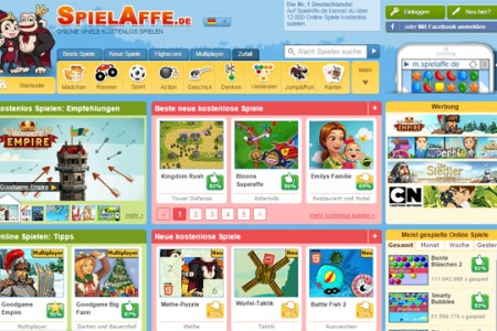 Minecraft Spielen Deutsch Minecraft Spielen Auf Spielaffe De Bild - Spiel affe de minecraft