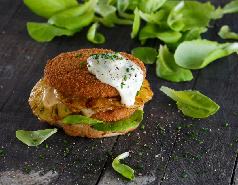 Chicken Burger Vegan