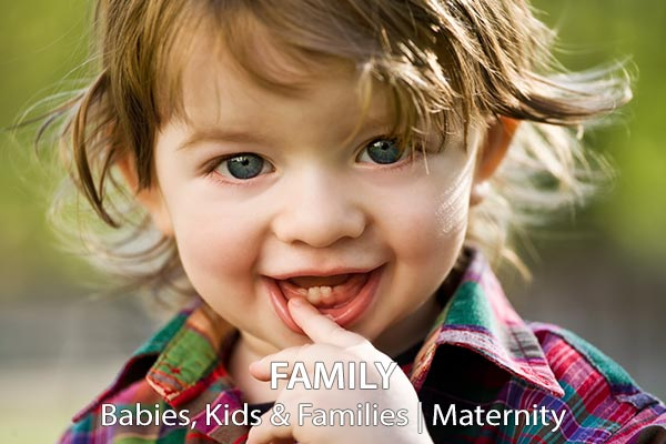 Family Portraits: Babies, Kids and Maternity