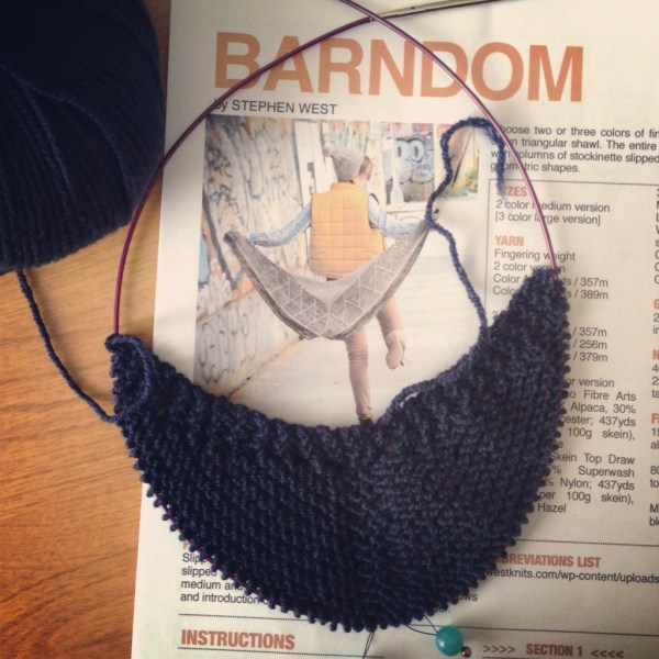 Barndom shawl - Project 365 - Day 29