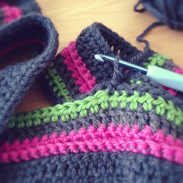 Crochet blanket - Projet 365 - Day48