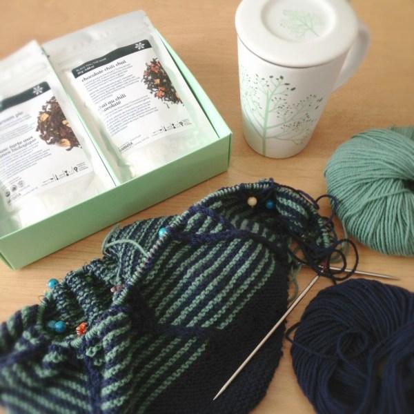 Knitting In Progress: Barndom Shawl