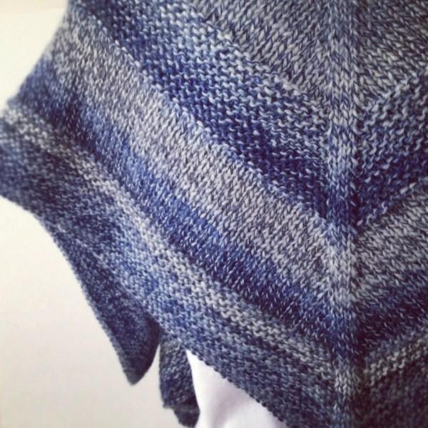 Knit pattern Weekender Shawl - Project 365 - Day 64