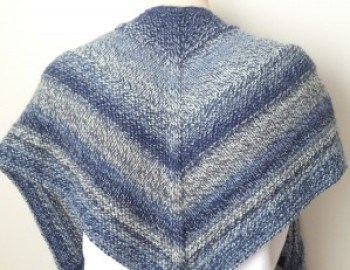 Free Knitting Pattern Shawl Weekender Shawl