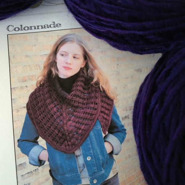 Colonnade Shawl from Stephen West (westknits)