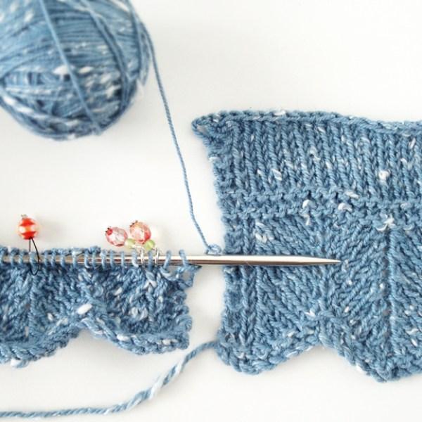 Knitting Pattern Tweedy Shawl