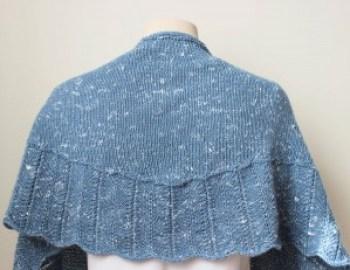 Knitting Pattern Shawl Tweedy Shawl