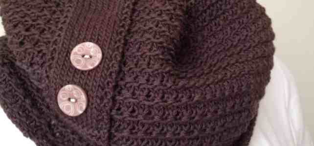 New Knitting Pattern Cowl: Chocolate Cowl