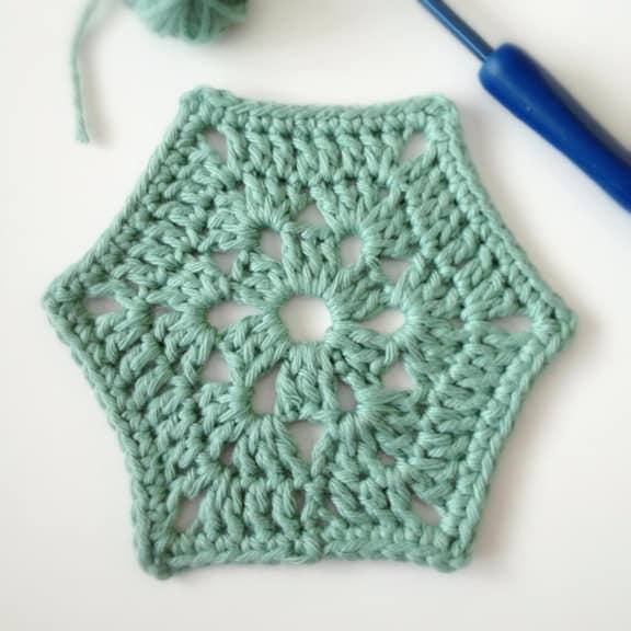 Crochet Hexagonal Motif