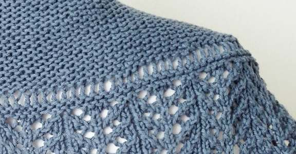 Knitted Shawl and Cowls