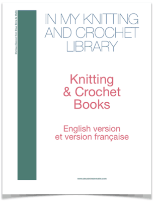 knitting and crochet library