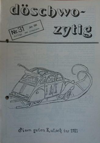 döschwo zytig 81