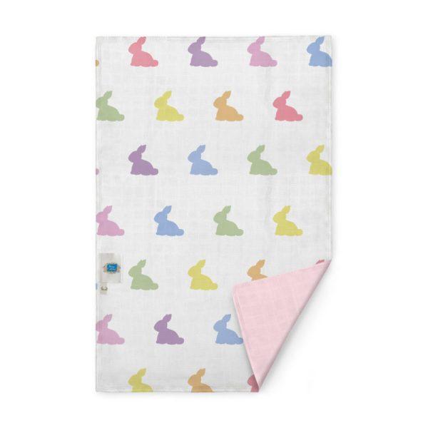 rainbow-lapin-pink-cift-kat-muslin-bebek-omuz-bezi