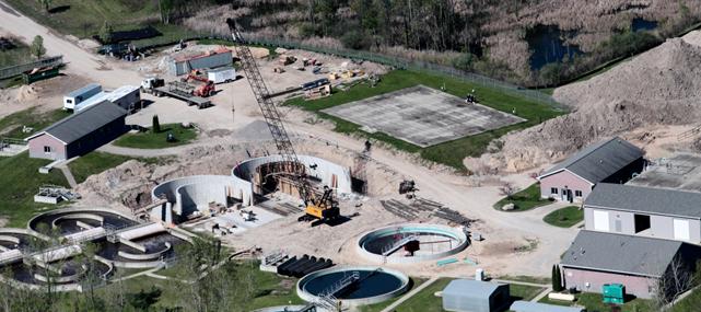 Municipal engineering, wastewater