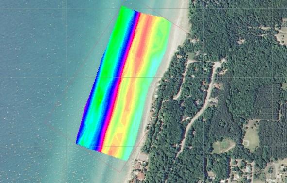 Shoal Monitoring along the Lake Michigan shoreline