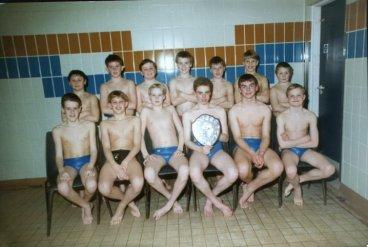 1993 Junior Water Polo Team