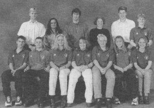 1996 Senior Swim Team