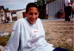 Khalid Jhugroo represented the England Aquatic Open Water Team