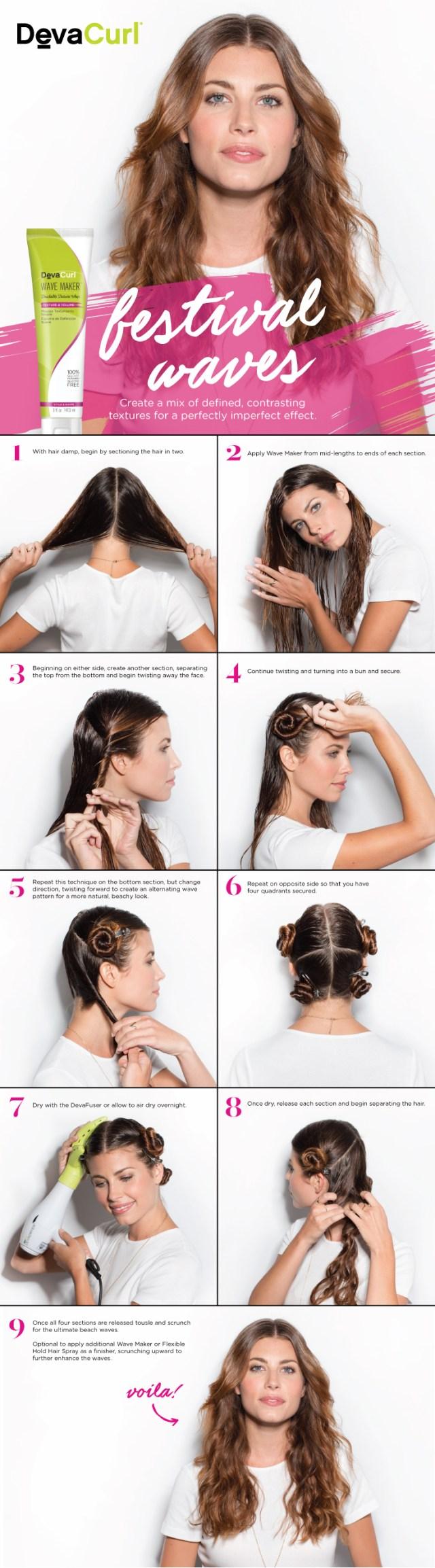 how to get wavy hair - 3 different ways - devacurl blog
