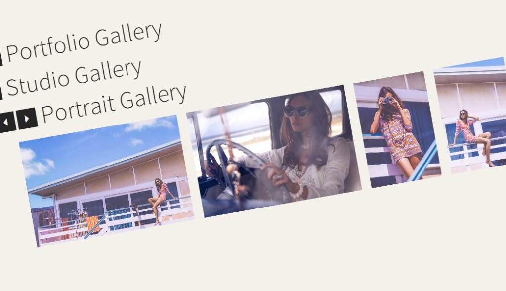 Rotated Gallery CSS3