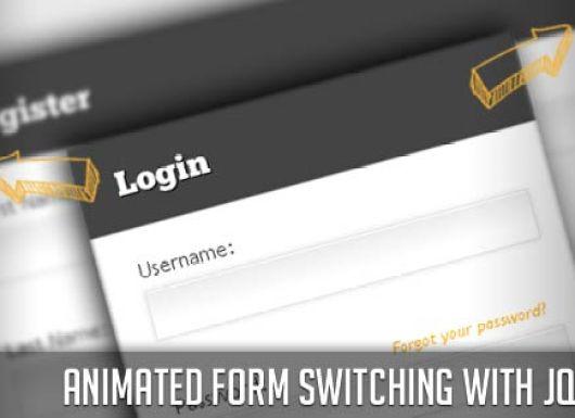 Animated Login Form