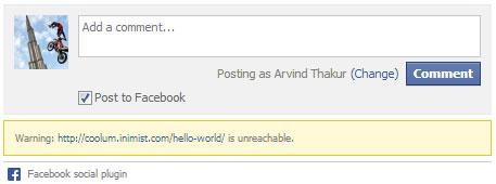 Warning-URL-is-unreachable