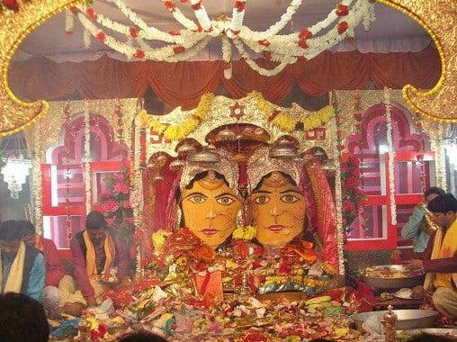 nanda devi temple in munsiyari