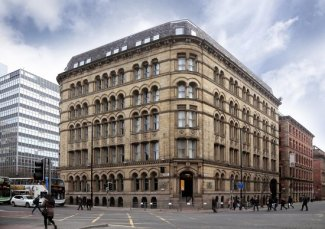 an image of the outisde of the townhouse manchester hotel
