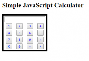 javascript calculator code