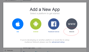 Login System with Facebook using Php