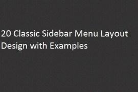 classic-sidebar-menu