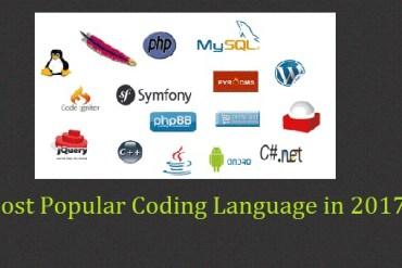 Most Popular Coding Language in 2017