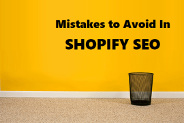 Shopify Mistakes