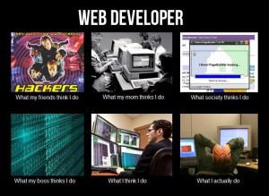 Web Developer What I Do