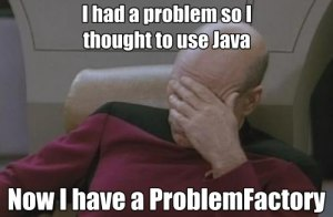 Java Sucks Problem Factory