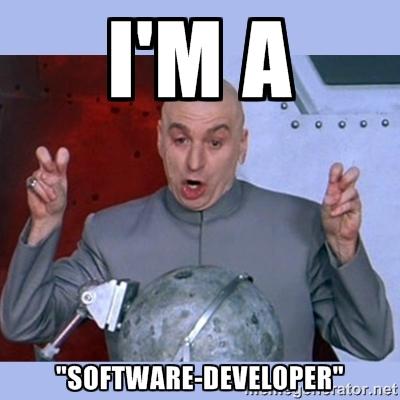Im A Software Developer Dr Evil Meme