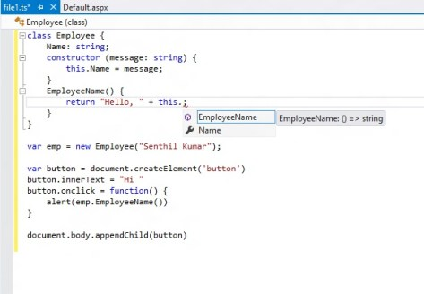 TypeScript for Visual Studio 2012 - 2
