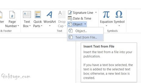 How To Combine Multiple Word Documents In a Single Document in Word 2013?