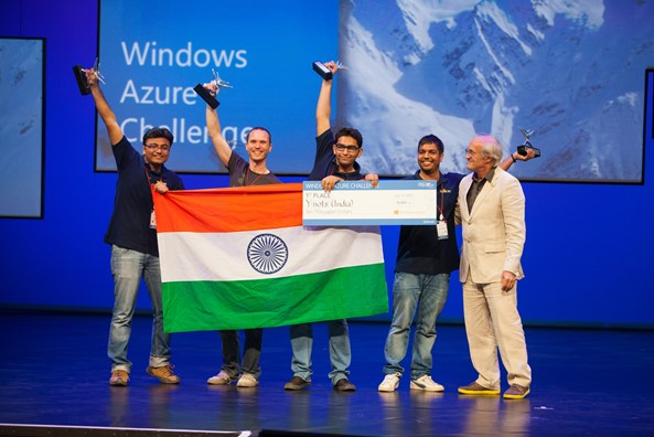 Y-Nots from India wins Microsoft Imagine Cup Worldwide Finals - Windows Azure Challenge