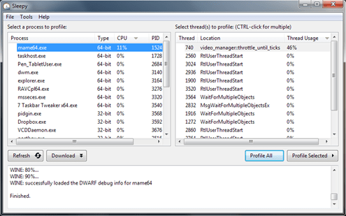 Free C++ Profiler for windows