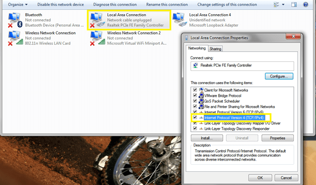 How to easily configure a static IP and test it in Windows 7?
