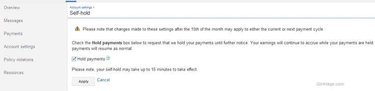 How to enable EFT (Electronic Fund Transfer) in Google Adsense account for Indian Publishers?