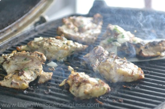 The Coconut Lime Chicken makes a healthy freezer meal.