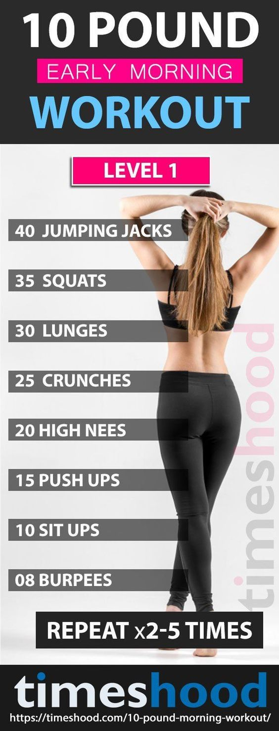 fat burning workouts for the early morning