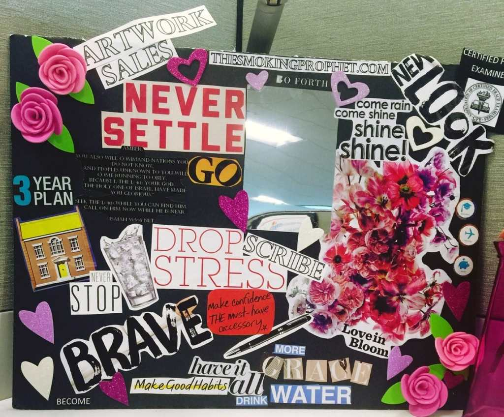 51 Vision Board Ideas For Your Important Goals In