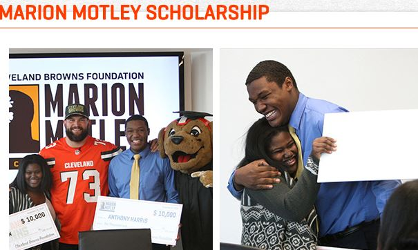 Cleveland Browns Foundation Marion Motley Scholarship