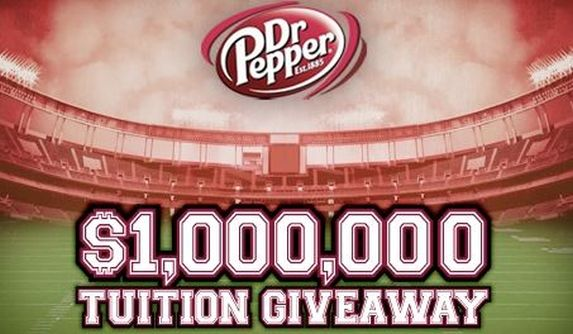 Dr. Pepper Tuition Giveaway Contest