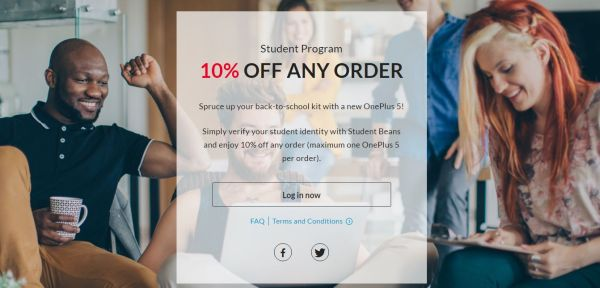 OnePlus Student Program 10% off Any Order